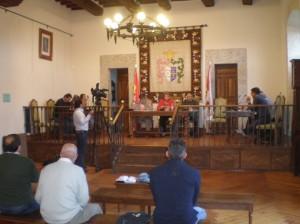 Durante un pleno ordinario celebrado en Candelario