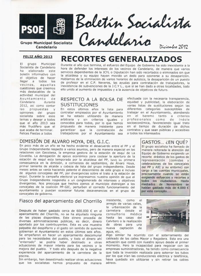 Boletín Página 1
