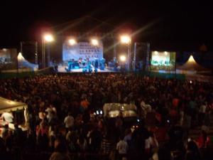 Durante una de las últimas ediciones del Festival de Blues de Béjar