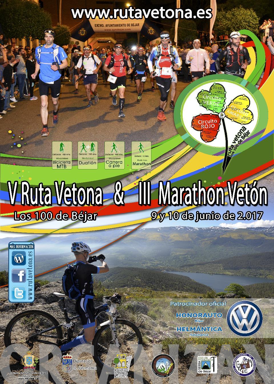 Todo a punto para la quinta edición de la Ruta Vetona y tercera del Marathon Vetón