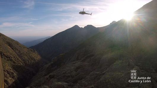 Rescatado un montañero en el Pico Almanzor, la Sierra de Gredos