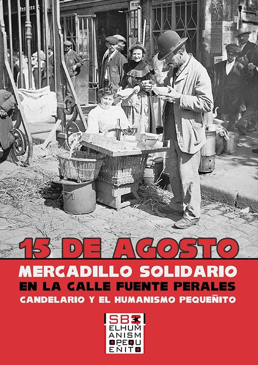 El 15 de agosto la solidaridad regresa a la Calle Fuente de Perales