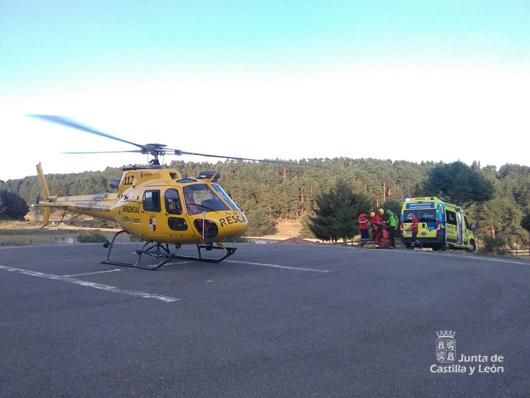 Vídeo: Así trabaja el Grupo de Rescate y Salvamento de la Junta de Castilla y León