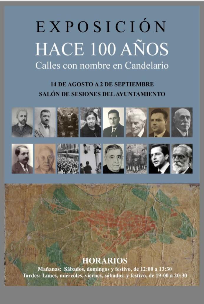 El salón de Plenos acoge una exposición sobre las calles de Candelario