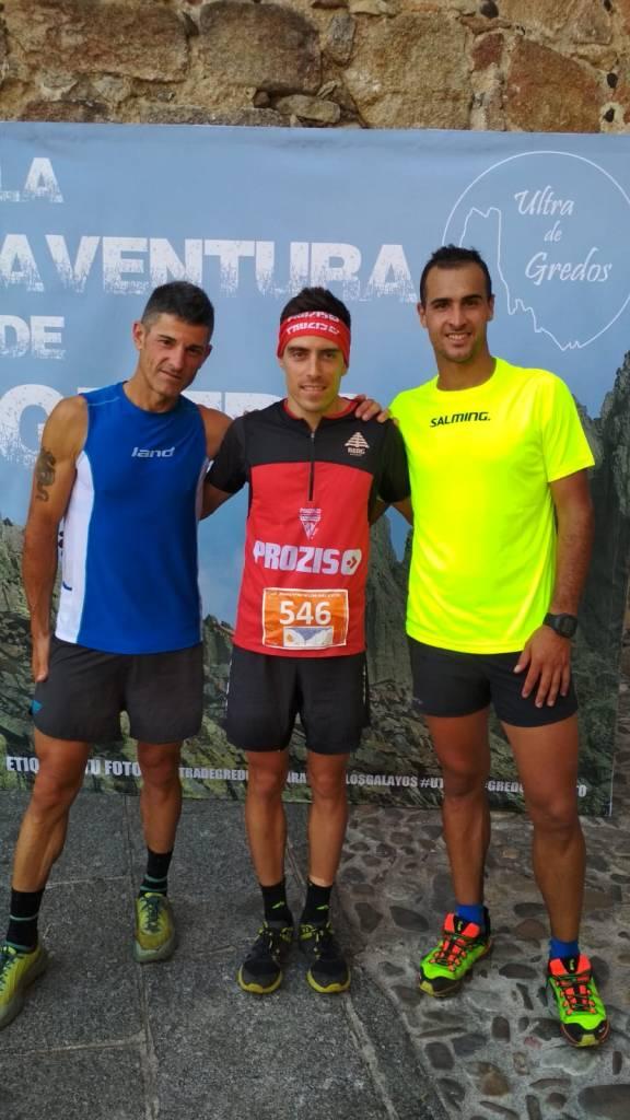 podio masculino Maraton de Los Galayos