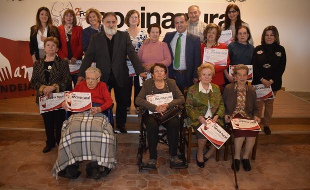 Mujeres-homenajeadas-en-el-II-Foro-de-Cocina-Rural-de-Salamanca