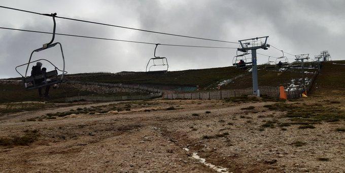 fotografía. estación de esquí fin de semana